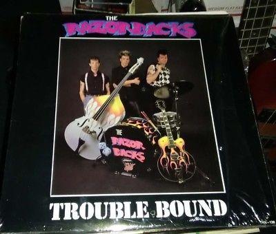 Razorbacks Trouble Bound Rockabilly revival LP