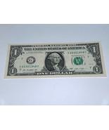 2013 One Dollar Bill US Bank Note Date Year Birthday 6530 1948 Fancy Ser... - £9.92 GBP