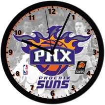 "Phoenix Suns LOGO Homemade 8"" NBA Wall Clock w/ Battery Included - $23.97"