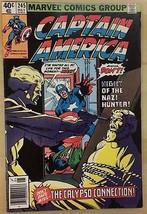 CAPTAIN AMERICA #245 (1980) Marvel Comics VG+/FINE- - $9.89