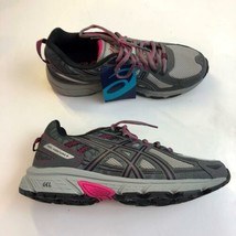 Asics Gel-Venture T7G7N Trail Running Shoes Womens 8.5 Gray Support Cush... - $38.68