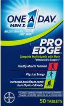 One a Day MEN'S PRO EDGE Multivitamin Tablets 50 Count EXP 06/20 to 12/20 - $5.75
