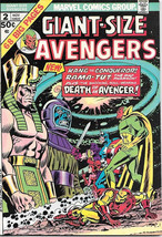 Giant-Size Avengers Comic Book #2, Marvel Group 1974 VERY FINE+ - $34.75