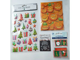 Year Round Stickers, Set of 16 Sticker Packs #2405 image 4