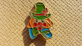 Clown Pin - Soviet Vintage Clown Pin Made in USSR in 1980s. - $8.00