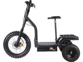 MotoTec Electric Trike 48v 1200w MT-TRK-1200 Scooter 3 Wheel Personal Transport image 3