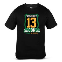 Conor McGregor Boxing Fight Swag MMA Champion Swag Black Mens Tshirt - $15.99+