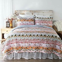 North End Decor Boho Limerick Quilt Set, Full/Queen 3-Piece - $125.40+