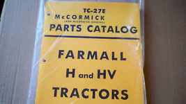 FARMALL H & HV PARTS MANUAL - $23.38
