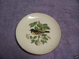 J K Bavaria Collectible Plate Westera Germany W Bird Lovely Bird - $8.39
