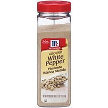McCormick Ground White Pepper, Bulk, Pure White Pepper Powder, 18 oz - $18.37