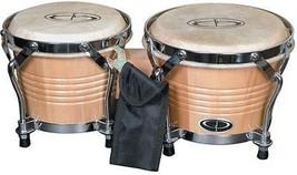 GP Percussion Pro-Series Tunable 6'/7' Bongos, Natural - $59.74