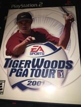 Tiger Woods Pga Tour 2001 - PLAYSTATION 2 PS2 Spiel - Getestet - $7.64