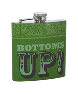 Bottoms Up! St Patty's Day Celtic Hip Flask Gift - $3.50