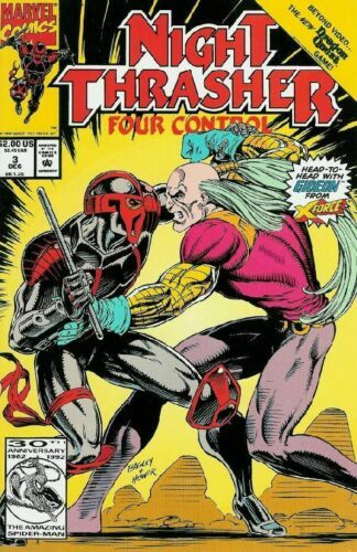Primary image for Night Thrasher: Four Control #3 VG 1992 Marvel Comic Book