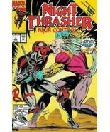 Night Thrasher: Four Control #3 VG 1992 Marvel Comic Book - $1.89
