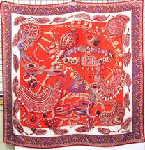 Hermes Shawl Scarf Stole Zenobie Reine de Palmyre Cashmere Silk Annie Fa... - $24.504,75 MXN