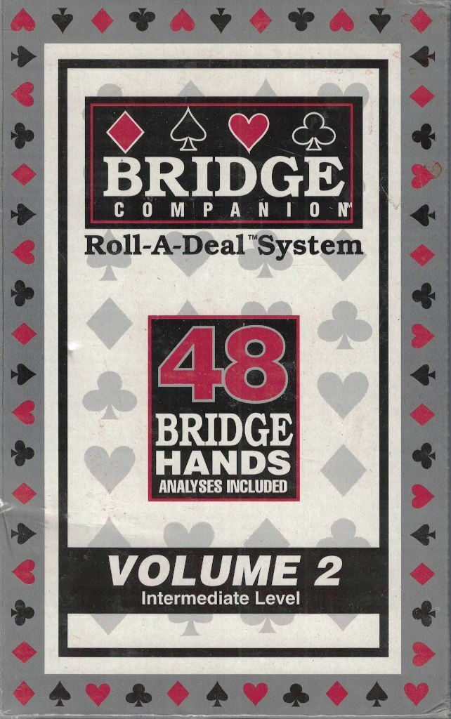 Primary image for Bridge Companion Roll A Deal System Vol 2 Intermediate Level 48 Bridge Hands New