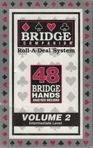 Bridge Companion Roll A Deal System Vol 2 Intermediate Level 48 Bridge H... - $15.83