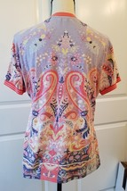 Etro Spa Designer Women's Multi Colored Top  Size 48 / L  image 6