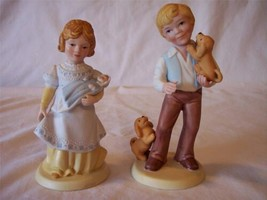 """A Mother's Love"" & ""Best Friends"" 1981 Figurines - Handcrafted for Avon - $7.59"