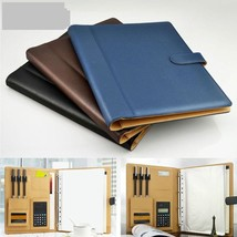 PU Ring Binder Display Notebook Folders With Calculator Document Organiz... - $45.59 CAD