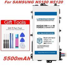 LOSONCOER 5500mAh SP3770E1H Battery for Samsung N5100 N5120 Galaxy Note 8.0 N511 - $26.94