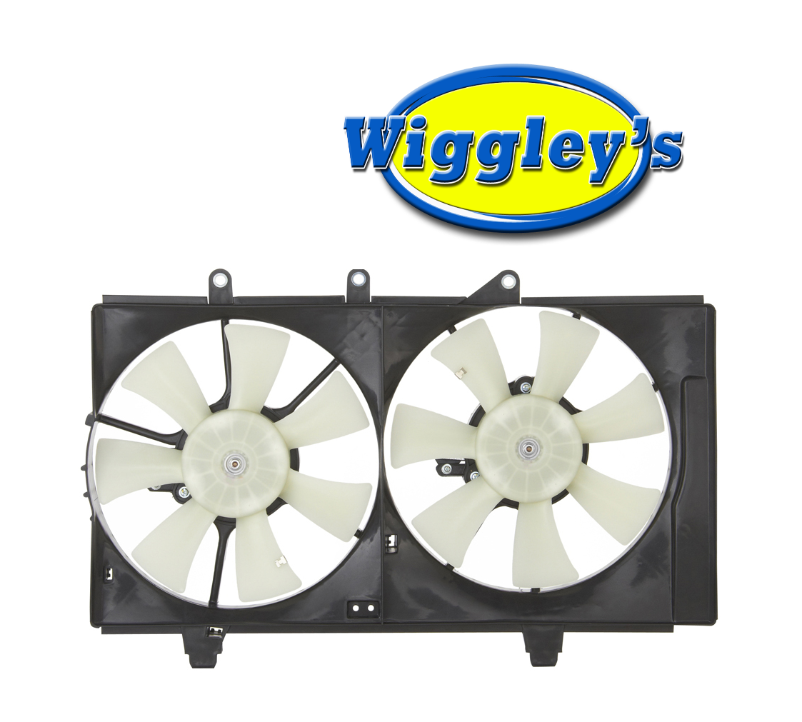 DUAL COOLING FAN ASSEMBLY CH3115130 FOR 01 02 03 DODGE PLYMOUTH NEON
