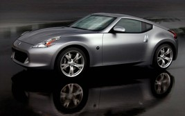 2012 NISSAN 370Z POSTER 24 x 36 INCH SILVER AWESOME POSTER! - $18.99