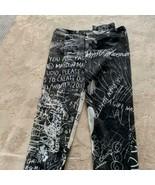 NWOT MM6 MAISON MARGIELA Sheer Printed Leggings SZ XS - $193.05