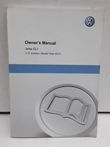 2013 Volkswagen Jetta GLI owners manual - $49.49