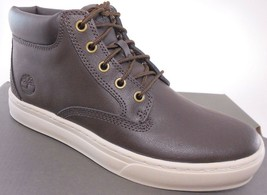 TIMBERLAND A181C DAUSET CUP CHUKKA MEN'S DK BROWN TEC-TUFF LEATHER BOOTS... - $75.59