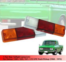 1 Pair Tail Light Taillight Lens For Datsun 1300 520 521 J13 (1968 - 1972) - $23.31