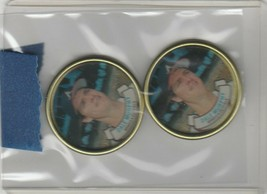 1987 Topps Coins Dale Murphy Braves Lot of 2 - $1.28