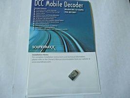 Soundtraxx 851001 MC1Z102P6 DCC Mobile Decoder 6-Pin NEM651 Plug & Play Format image 3
