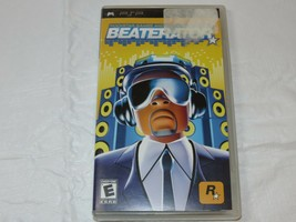 Beaterator Sony Psp 2009 Rockstar Jeux et Timbaland Rated-E Everyone - $15.93