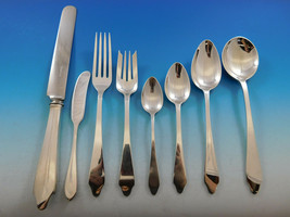 Clinton by Tiffany and Co Sterling Silver Flatware Set 12 Service 98 pcs Dinner - $11,500.00