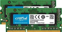 Crucial 8GB Kit (4GBx2) DDR3/DDR3L 1066 MT/s (PC3-8500) (8GB KIT (4GBx2)... - $74.15