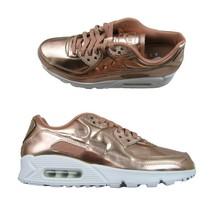 Nike Air Max 90 SP Womens Size 11.5 / Mens 10 Pack Metallic Rose Gold CQ6639-600 - $99.00