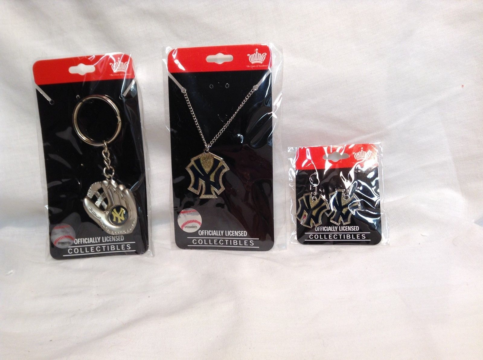 NEW Aminco MLB NY Yankees Accessory Collection Set