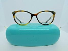 Kate Spade Kassia (CRX) Dark Havana / Gold 51 x 16 135 mm Eyeglass Frames - $64.30