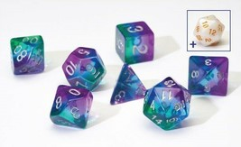 SIRIUS SEMI-TRANSLUCENT BLUE AURORA RESIN 7 DIE SET free D20 + tube SDZ0... - $18.47