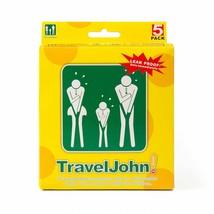 Travel John 5 Disposable Urinals Men Women & Children  - $17.40
