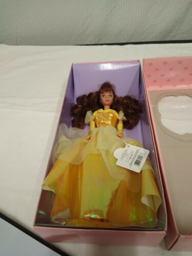 """Disney Beauty and the Beast Belle 11"""" Doll Yellow Gown Applause New Vintage 90s image 3"""