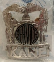 Collectible Kane Service County Badge Historical Memorabilia Blackinton ... - $29.69