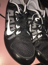 NIKE Zoom Rival MD 7 Track & Field Spikes Cleats Black Size 13 Mens - $38.79