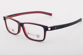 Tag Heuer 7604 001 Track Black Red Eyeglasses 7604-001 56mm - $244.02
