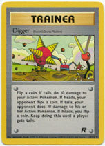 Digger 75/82 Uncommon Trainer Team Rocket Unlimited Pokemon Card