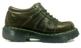 Dr Martens Shoes Derby 6 Eye Platform Tall Chunky Womens UK 5 US 7 EU 38 Brown - $36.96
