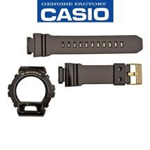 Genuine Casio Watch Band Strap & Black Bezel GD-X6900FB-1 Shinny Rubber Set - $60.95